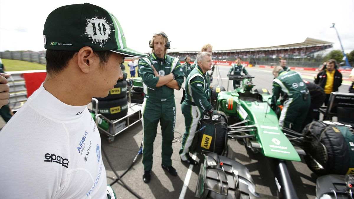 Kamui Kobayashi (Caterham) - Grand Prix de Grande-Bretagne 2014