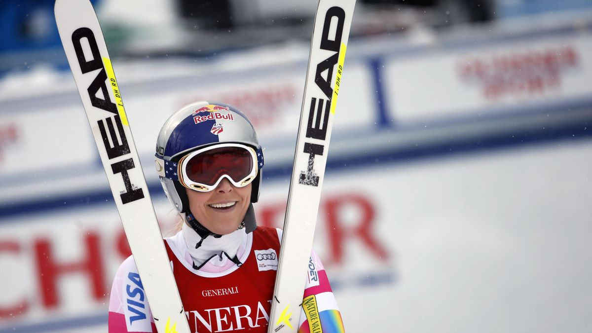 Lindsey Vonn à Lake Louise