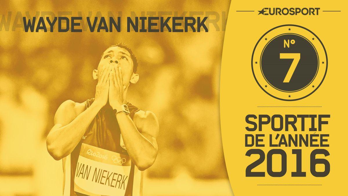 Sportifs mondiaux de l'année 2016 : Wayde van Niekerk