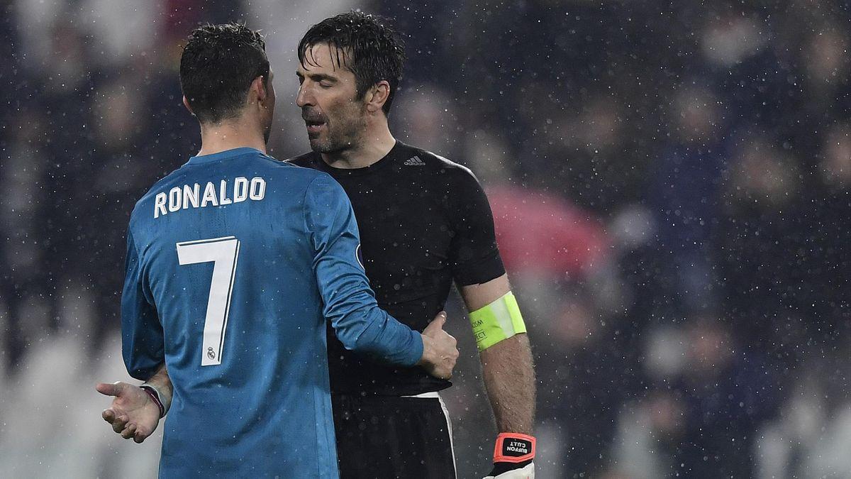 Gianluigi Buffon, Cristiano Ronaldo, Juventus, Getty Images