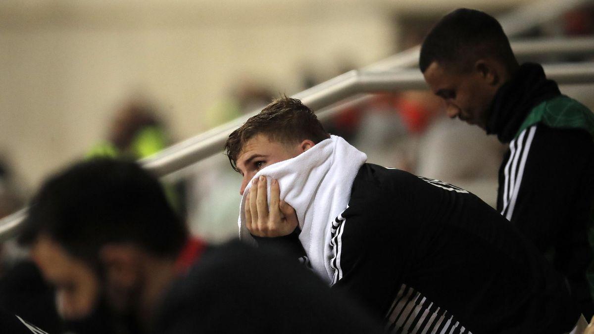 Enttäuschte Gesichter beim DFB