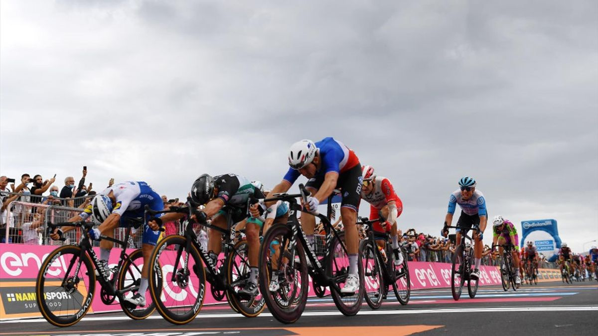 Sagan, Ballerini, Démare - Giro d'Italia 2020, stage 4 - Getty Images