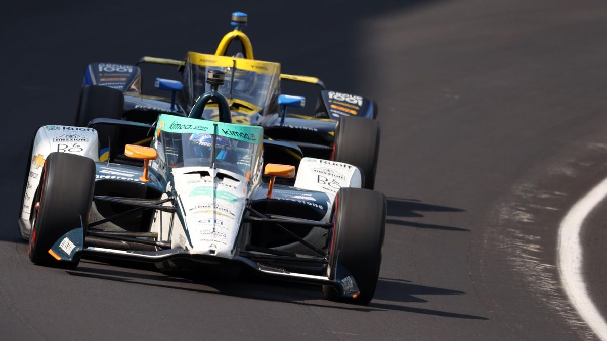 Fernando Alonso (Arrow McLaren) 500 Millas de Indianápolis 2020