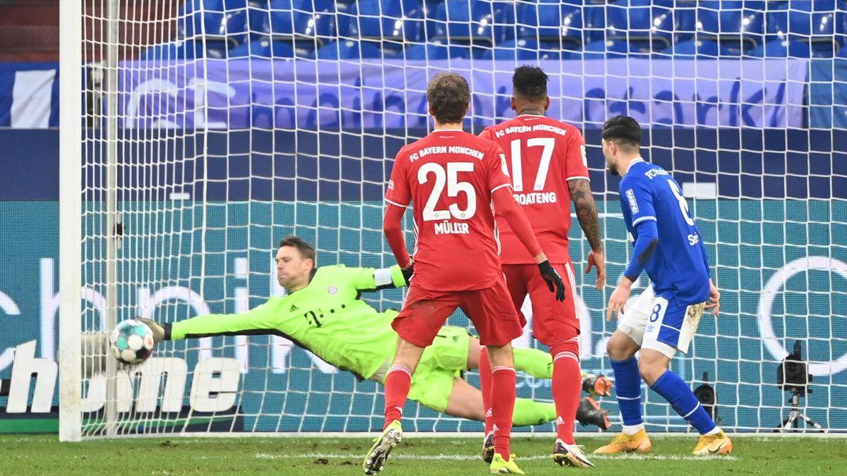 Bayern-Torwart Manuel Neuer (links) hielt auf Schalke die Null