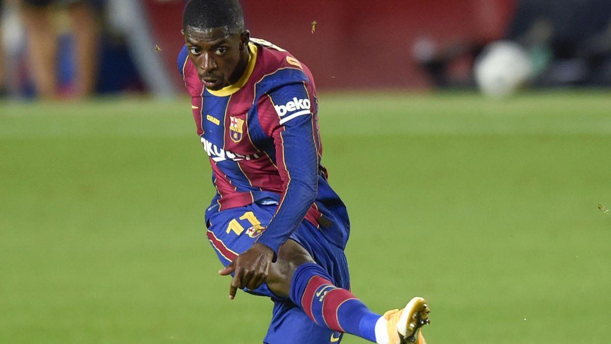 Le Barça serait prêt à vendre Dembélé à Manchester United pour laisser la  place à Depay - Eurosport