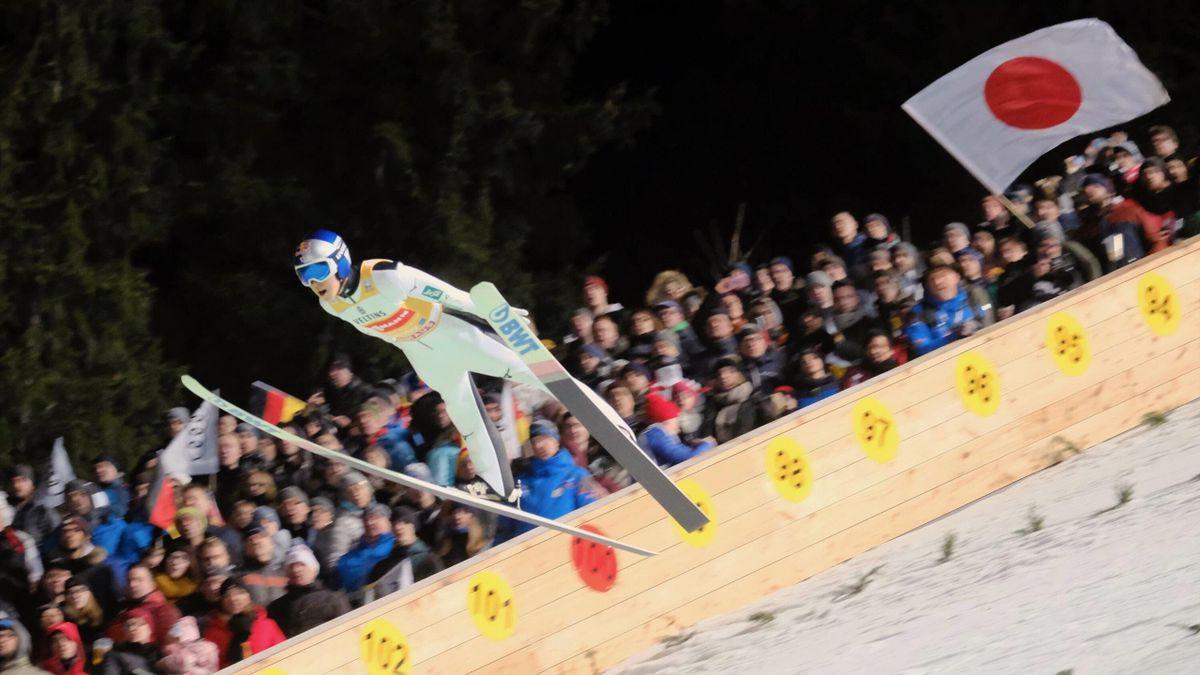 Ryoyu Kobayashi in Oberstdorf 2019
