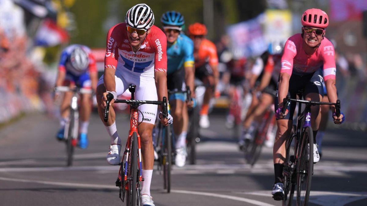 Mathieu Van der Poel and Simon Clarke, Amstel Gold Race 2019