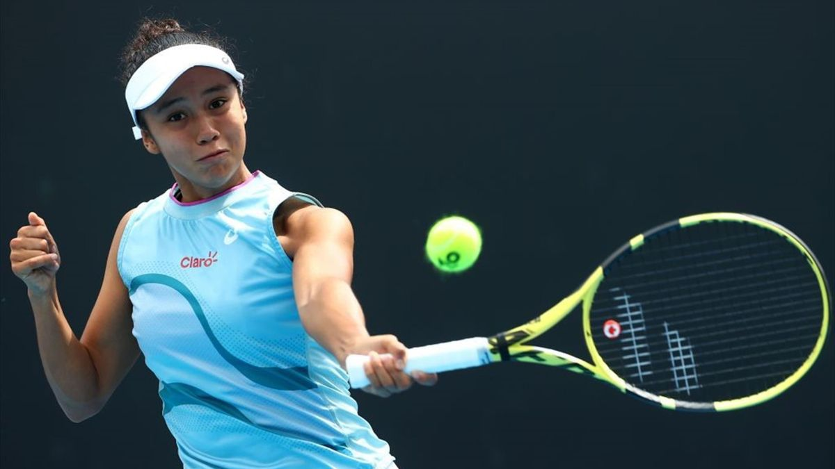 Leylah Fernandez hat in Monterrey ihren ersten WTA-Titel geholt