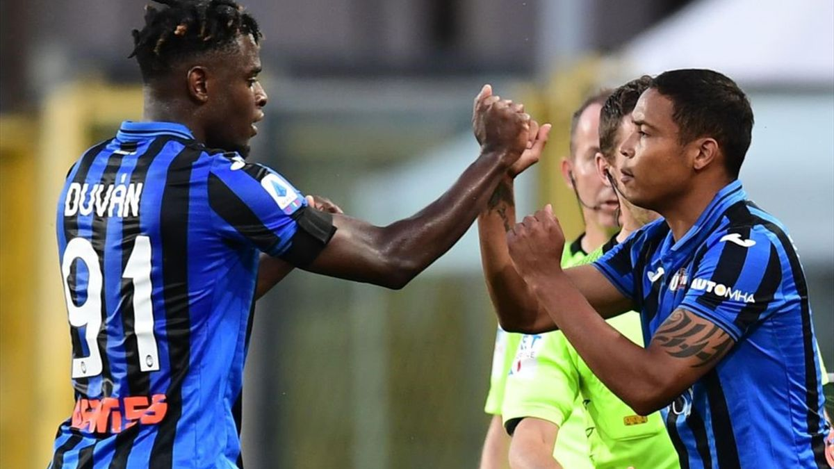 Zapata, Muriel - Atalanta-Sassuolo - Serie A 2019-2020 - Getty Images