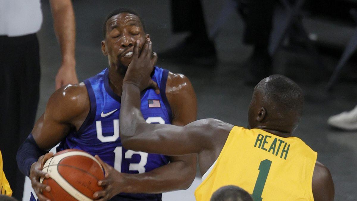 Сборная США – сборная Австралии, товарищеский матч