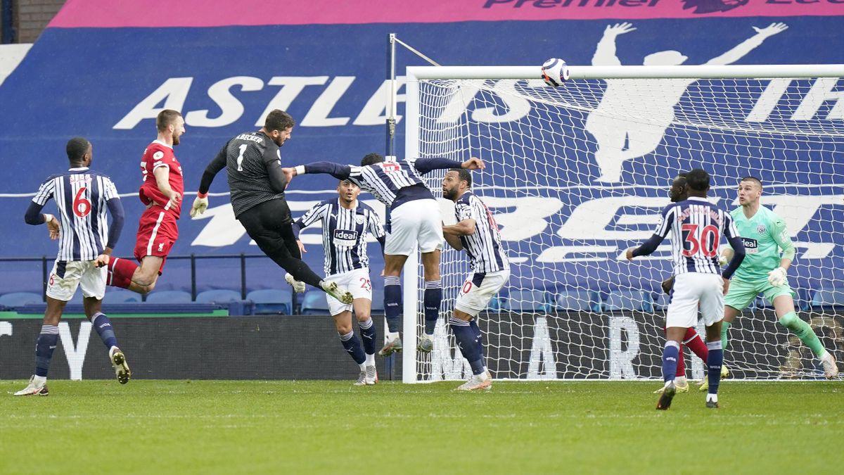 Alisson Becker - West Bromwich Albion vs. FC Liverpool