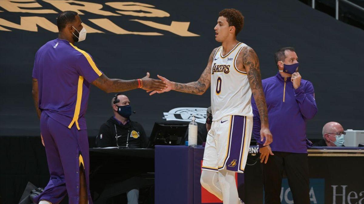 Kuzma LeBron James Lakers