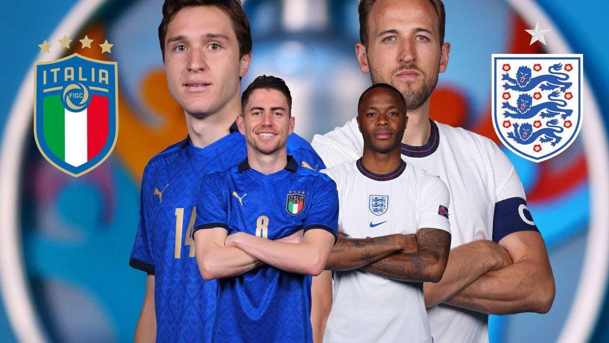 Italia-Inghilterra ai raggi X: formazioni a confronto, chi partirà ...