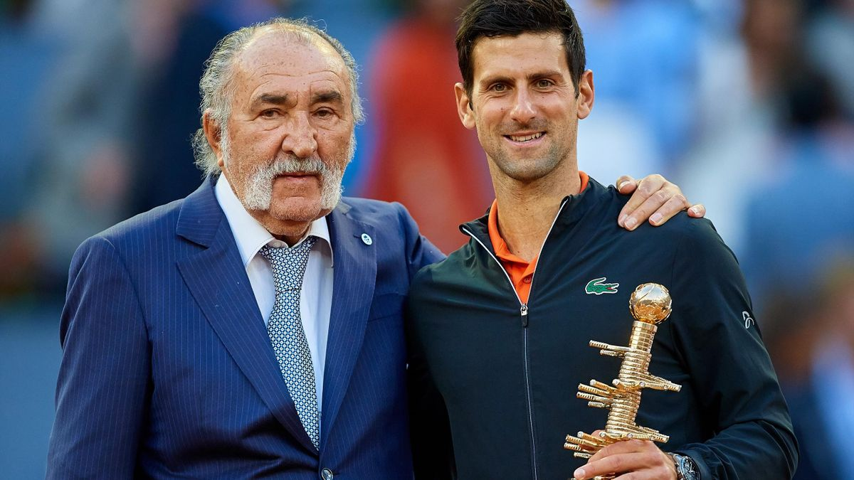 Ion Țiriac & Novak Djokovic