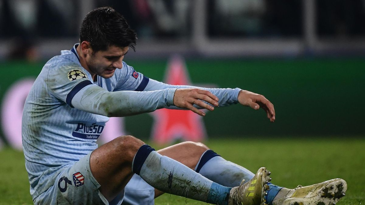 Verpasste den Ausgleich bei seinem Ex-Klub Juve: Atléticos Álvaro Morata