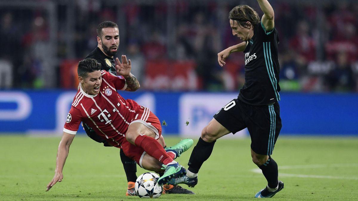Die Bayern verloren das Hinspiel gegen Real Madrid