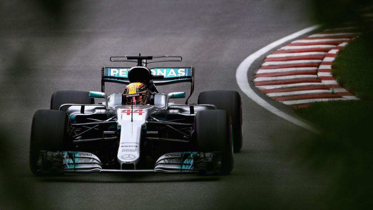 Lewis Hamilton (Mercedes) - GP of Canada 2017