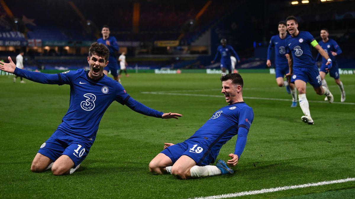 Christian Pulisic (left) and Mason Mount (FC Chelsea)