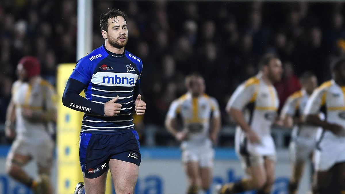 Danny Cipriani in action for Sale Sharks