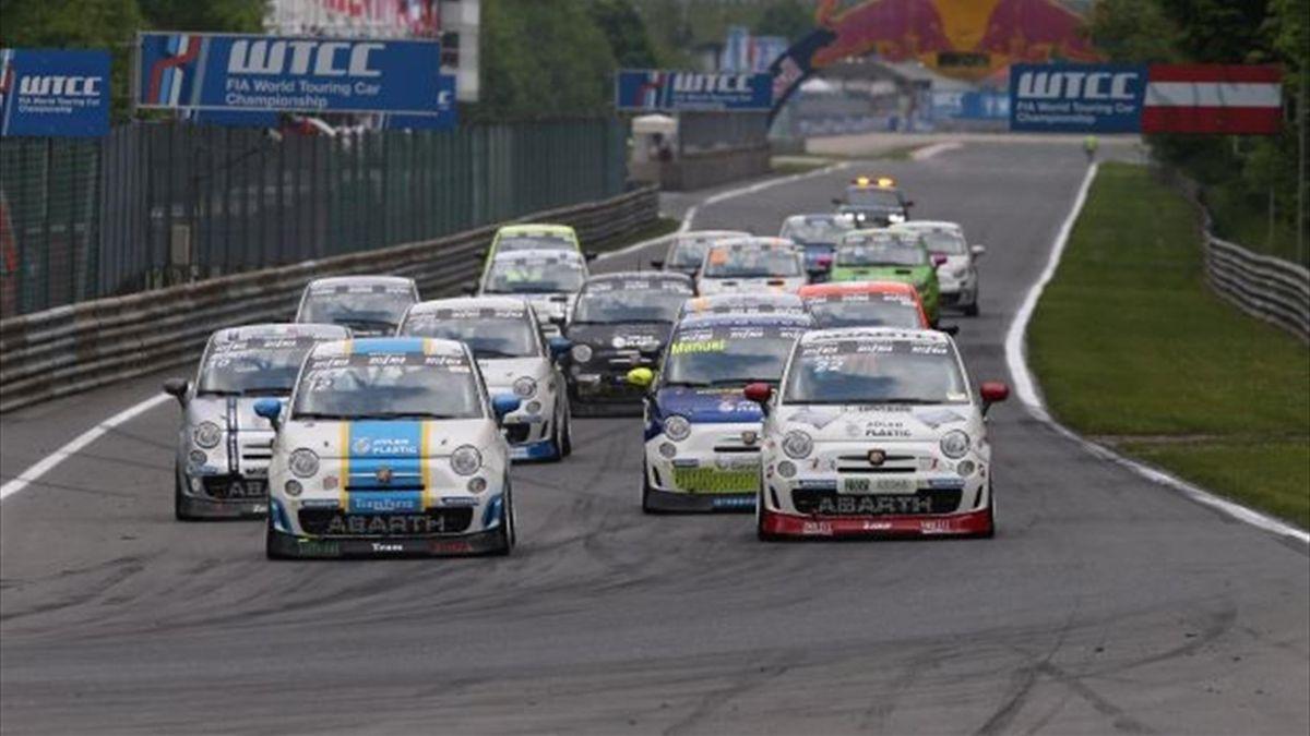 Campani se llevó la primera carrera en Austria (Abarthpress.es)