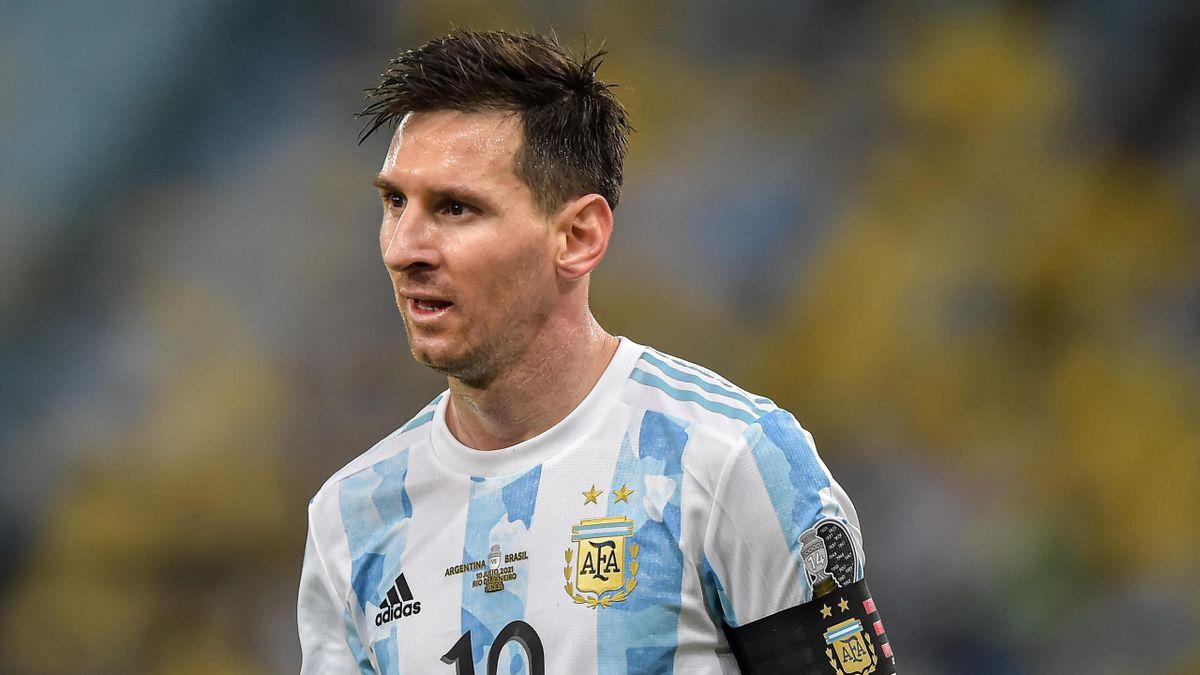 Лионель Месси, Аргентина, Кубок Америки-2021