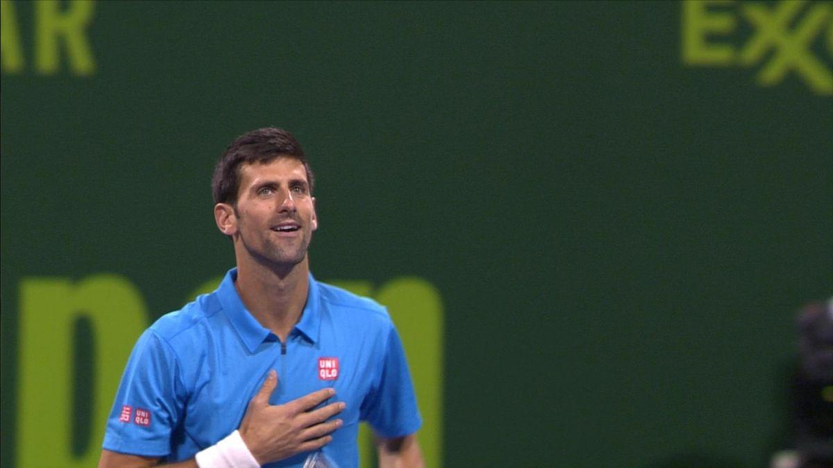 Atp Doha : Hlts Zeballos v  Djokovic