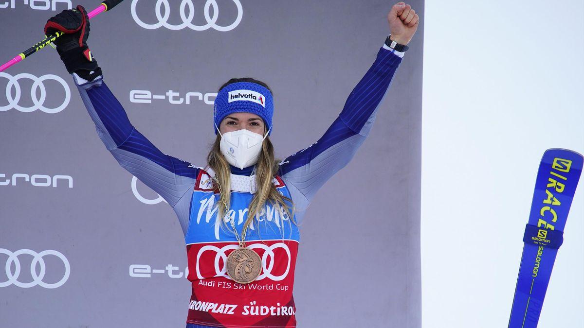 Marta Bassino terza in gigante