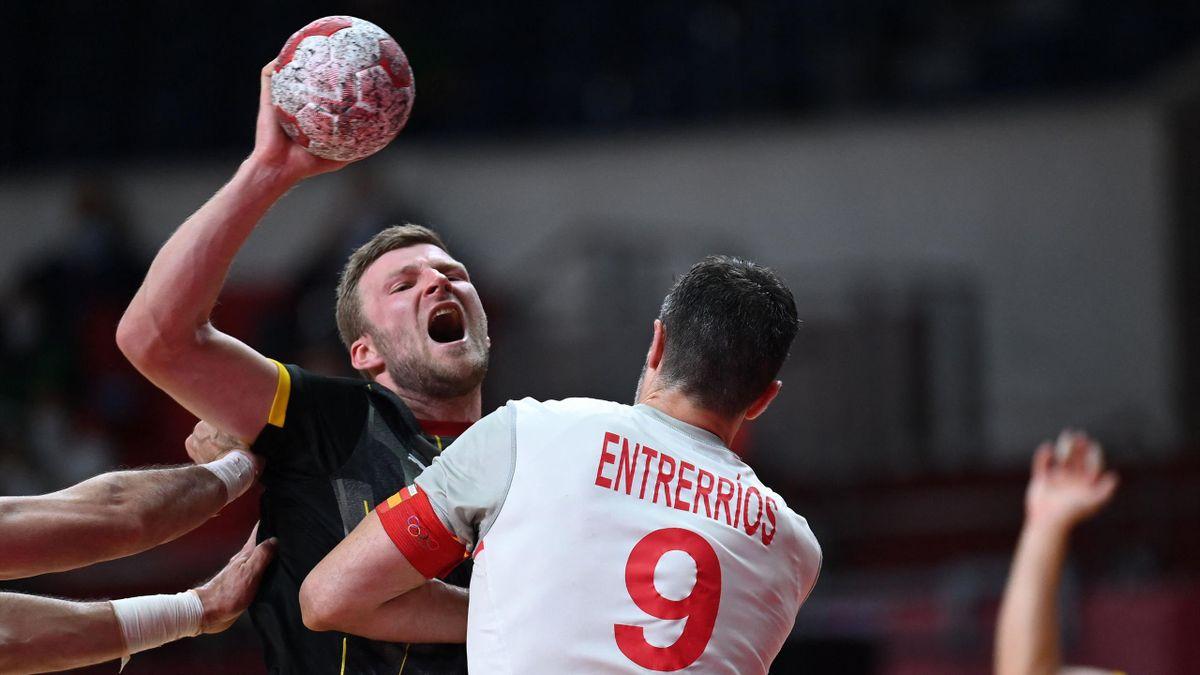 Philipp Weber verlor mit Deutschland das Auftaktspiel gegen Spanien