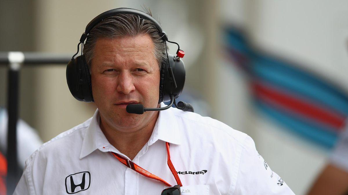 Zak Brown (McLaren)