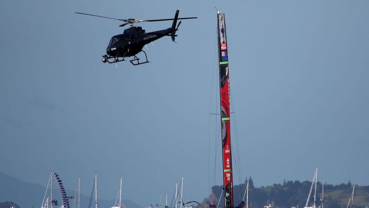 Elicottero - Luna Rossa - America's Cup