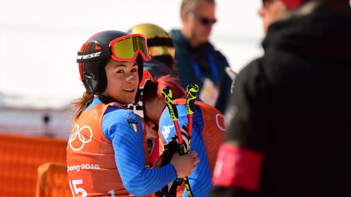 Sofia Goggia -  Alpine Skiing Women's Downhill - PyeongChang 2018 Winter Olympics - Getty Images