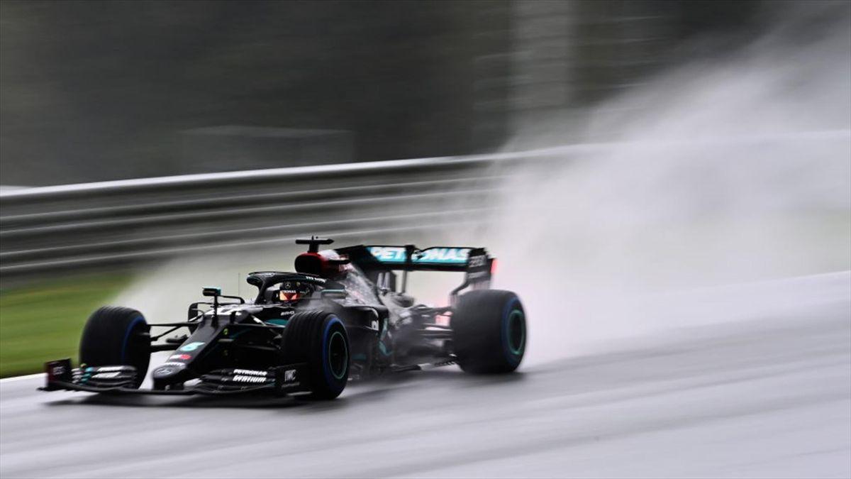 Lewis Hamilton (Mercedes) au GP de Styrie 2020
