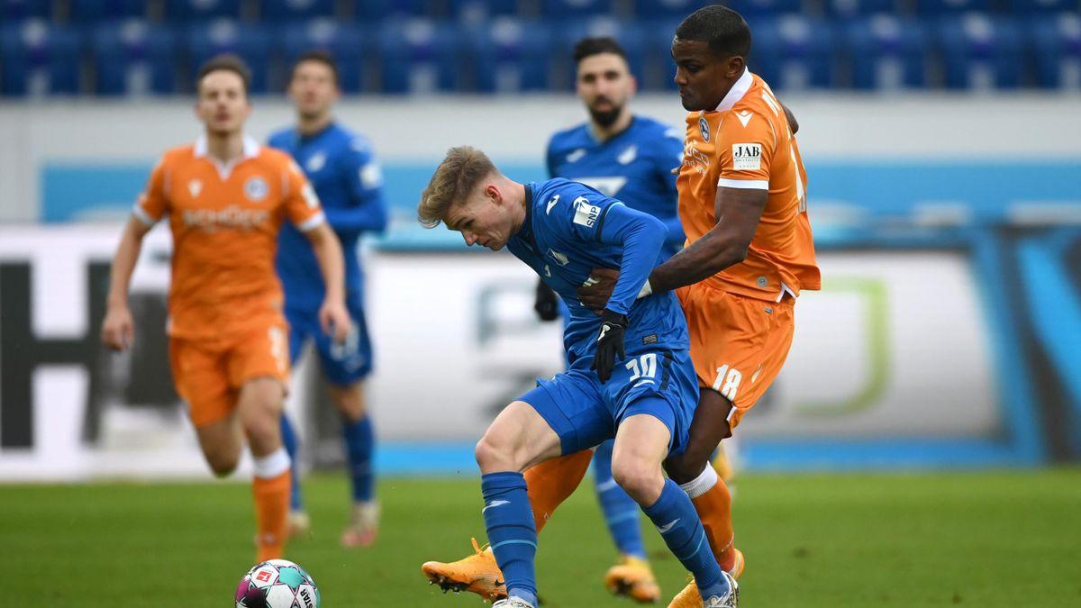 Hoffenheim gegen Bielefeld