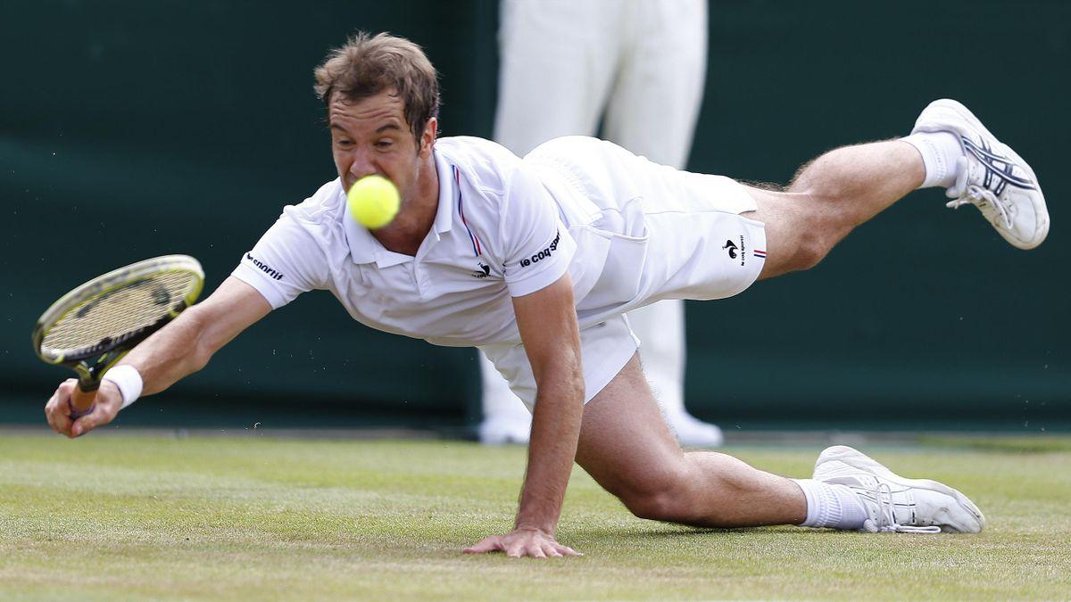 Richard Gasquet Wimbledon 2014
