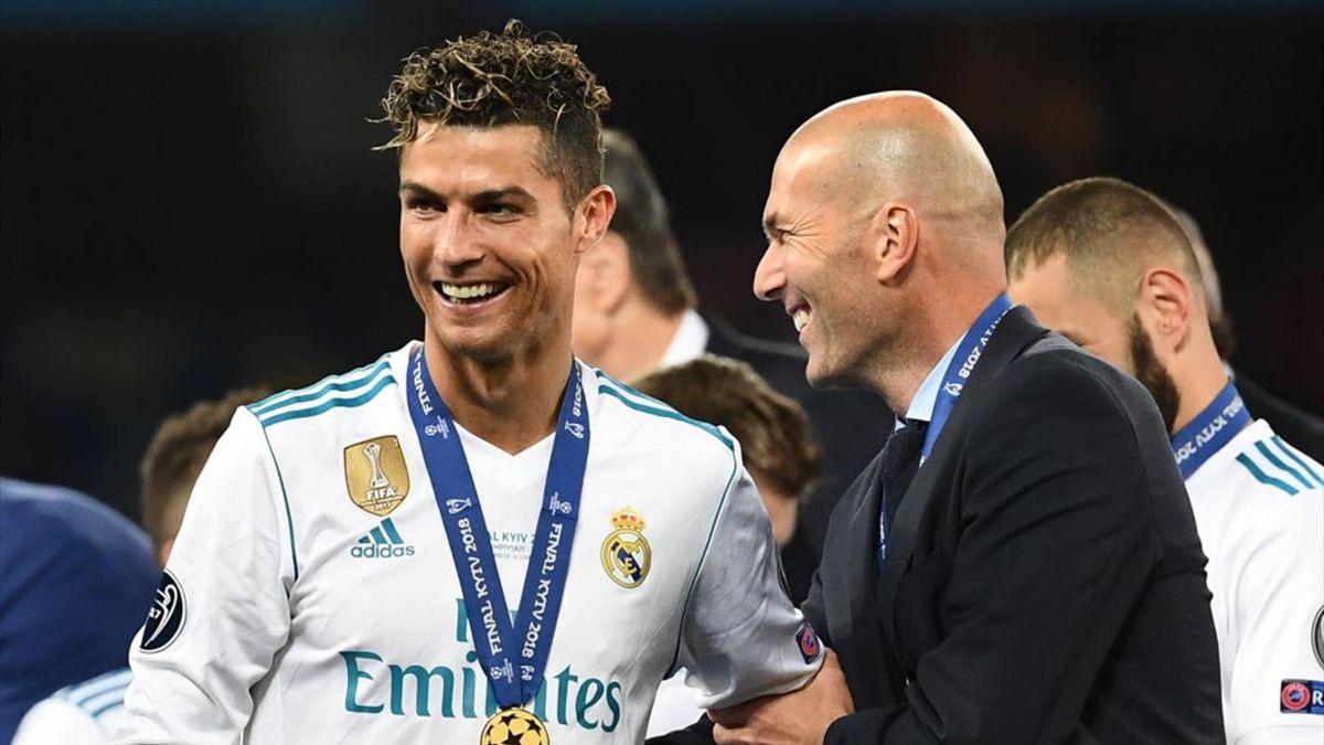 Cristiano Ronaldo și Zinedine Zidane