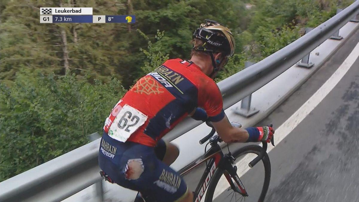 Tour of Switzerland : Enrico Gasparotto hurt.