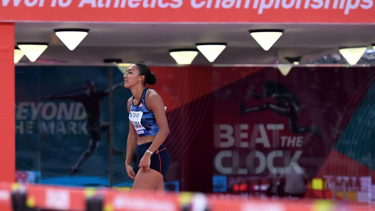 La déception de Solene Ndama, éliminée en séries du 100m haies aux Mondiaux 2019 de Doha
