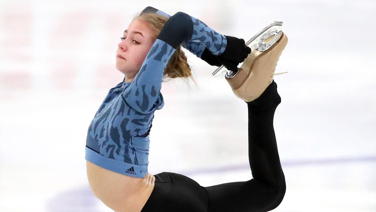 Александра Трусова, Россия, ЧМ-2021