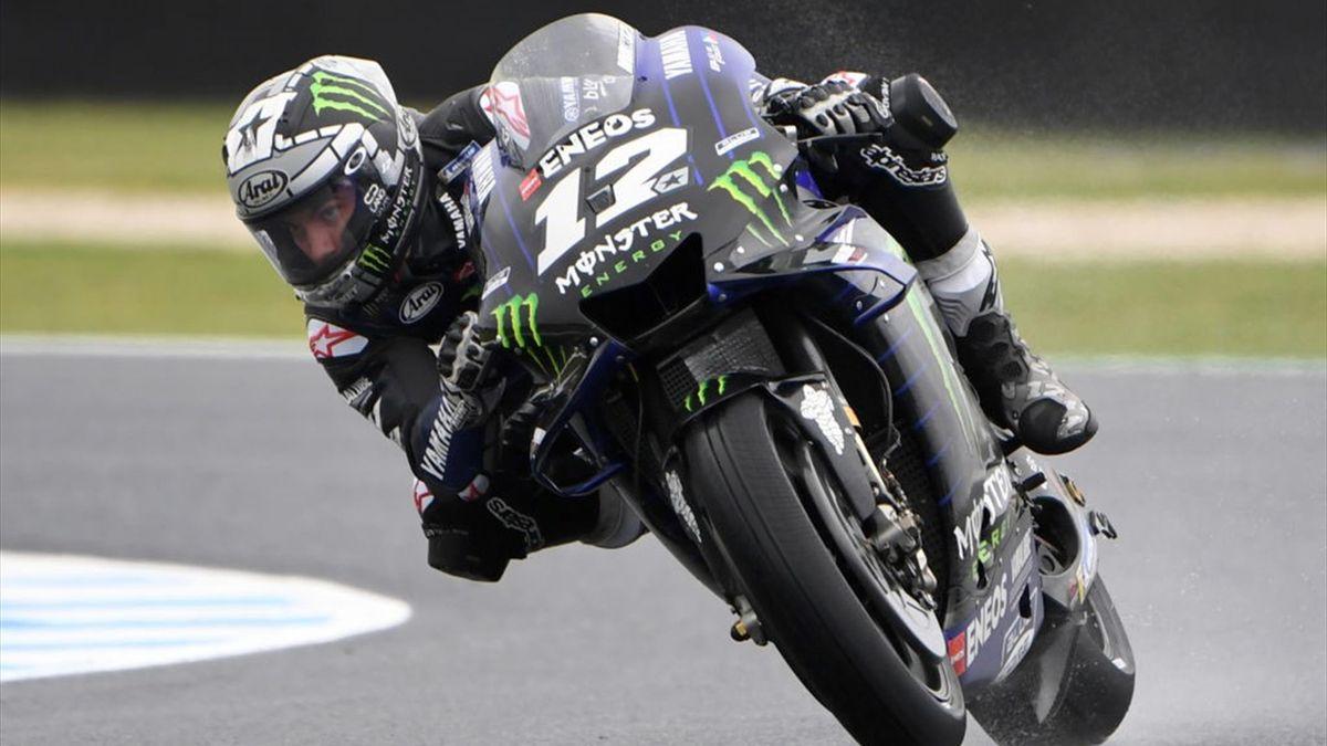 Maverick Vinales bei MotoGP Australien vorne