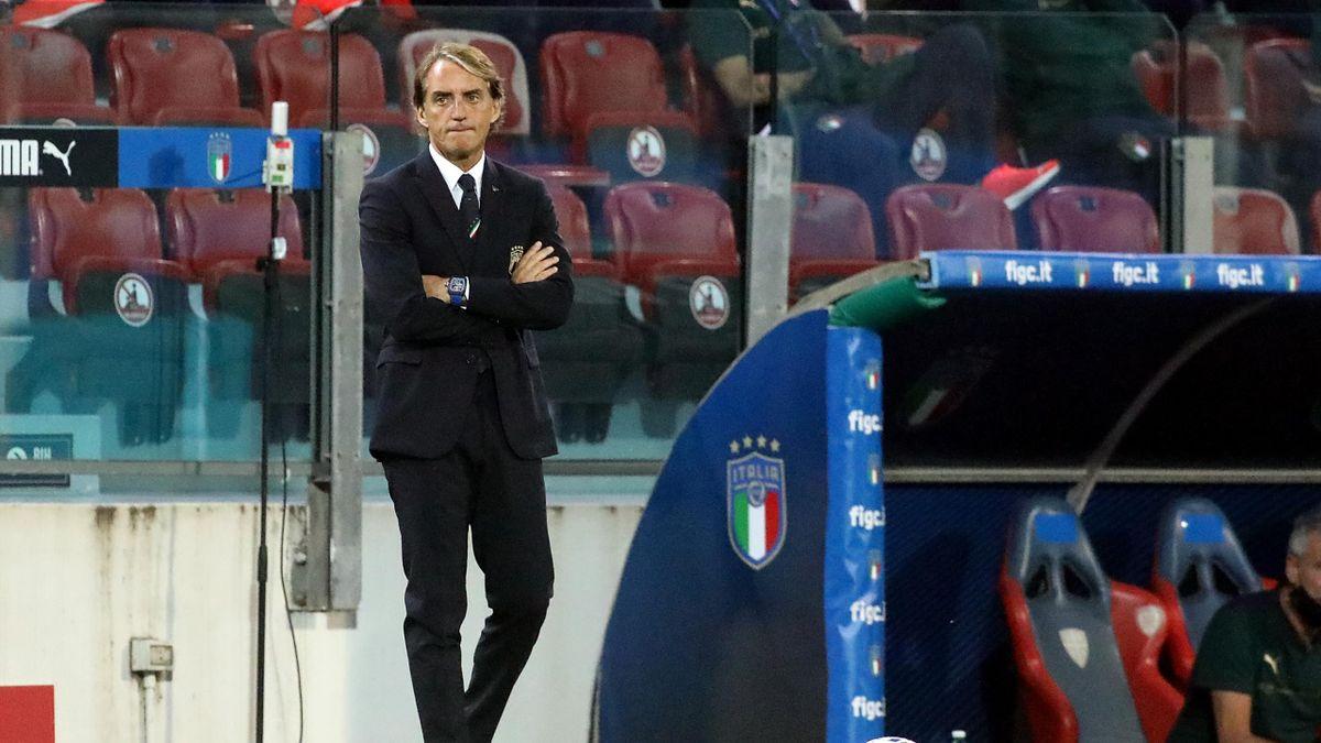 Roberto Mancini, Italia-San Marino