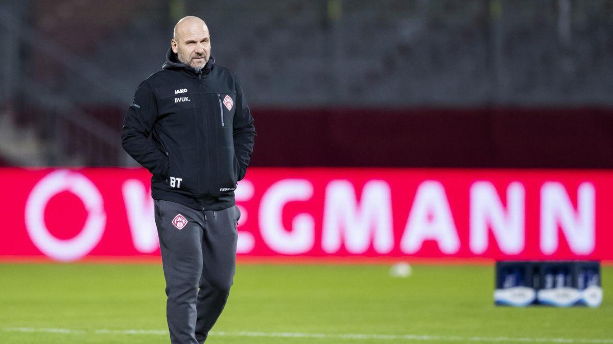 Bernhard Trares ist nicht mehr Trainer bei den Würzburger Kickers