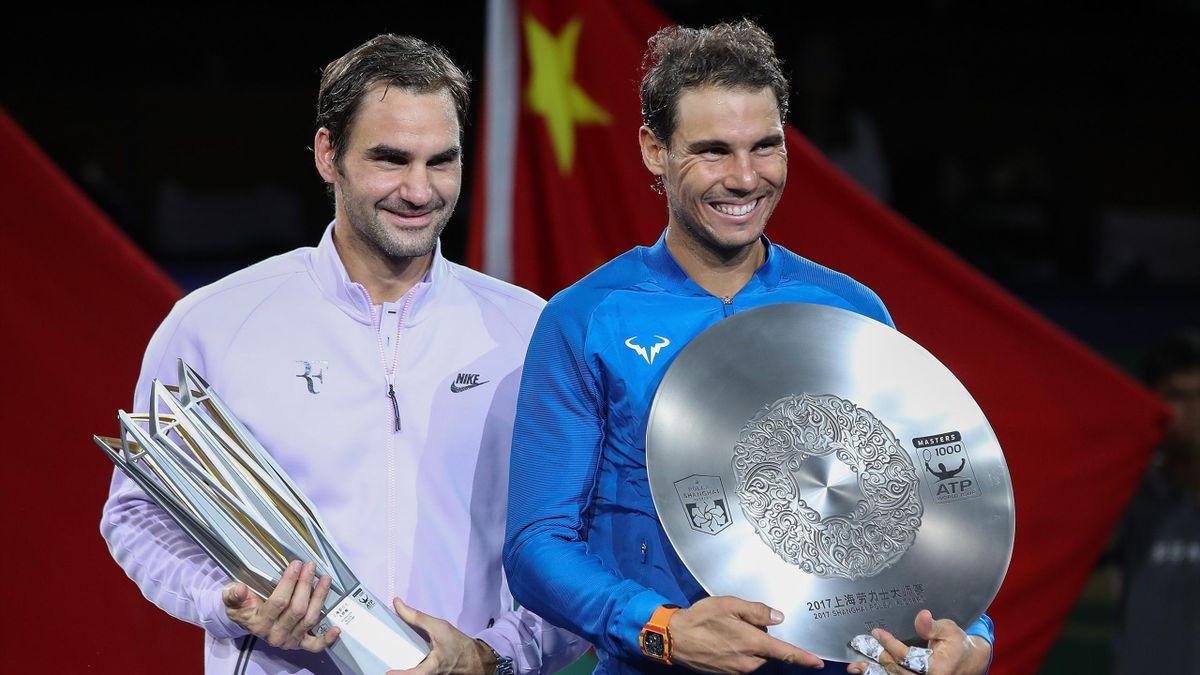 Federer y Nadal, en la final del Masters 1000 de Shanghái