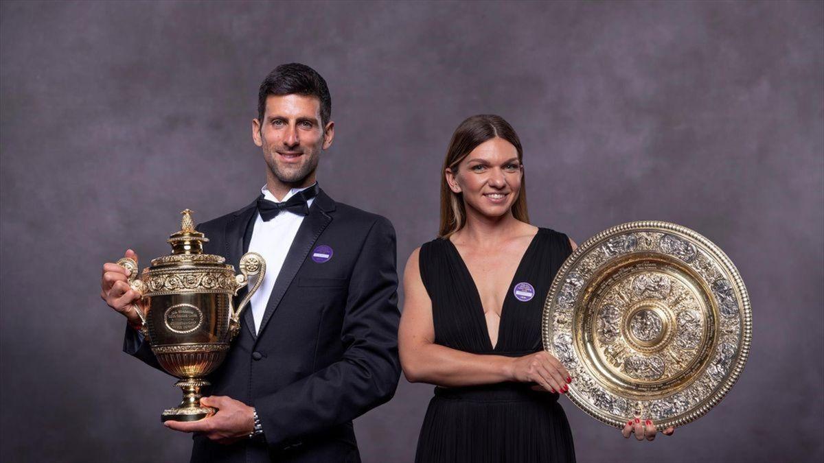 Novak Djokovic & Simona Halep au făcut dubla la Roma. Exact ca la Wimbledon 2019