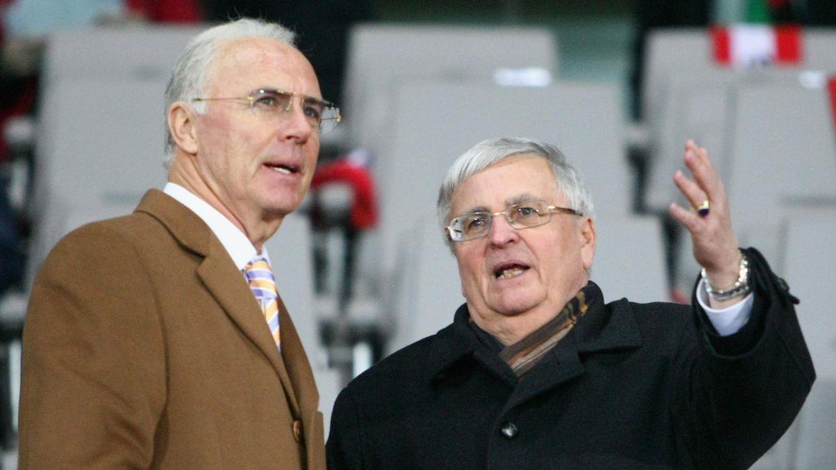 Franz Beckenbauer (links) und Ex-DFB-Präsident Dr. Theo Zwanziger müssen keine strafrechtlichen Konsequenzen seitens der FIFA fürchten