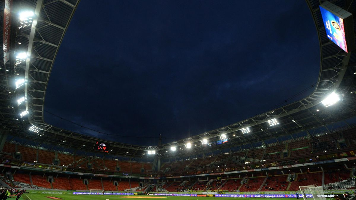 Lokomotiv Stadium, Moscova