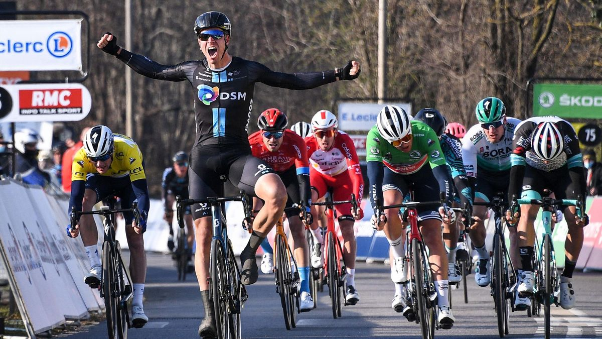 Cees Bol (Team DSM) a câștigat etapa a 2-a din Paris-Nice