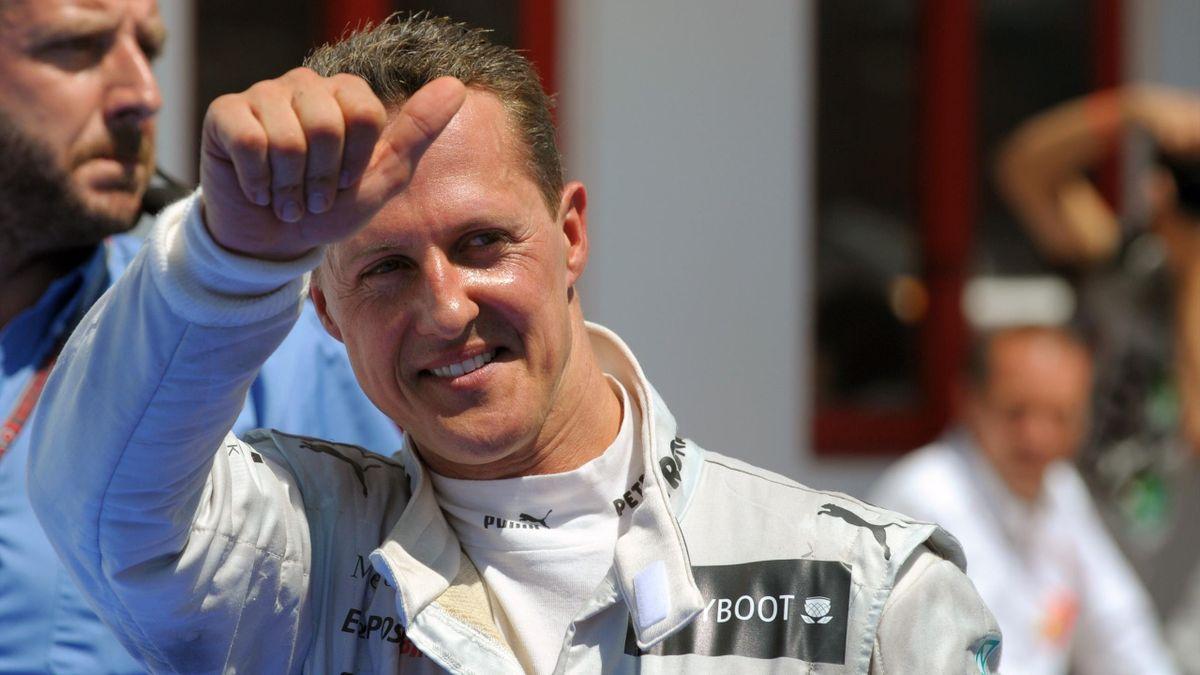 Michael Schumacher fuhr 2012 für Mercedes in Valencia auf das Podest