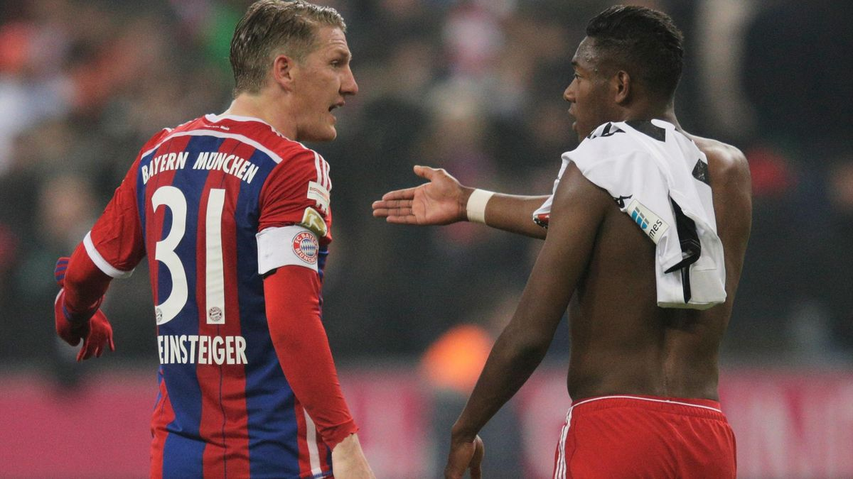 Bastian Schweinsteiger und David Alaba