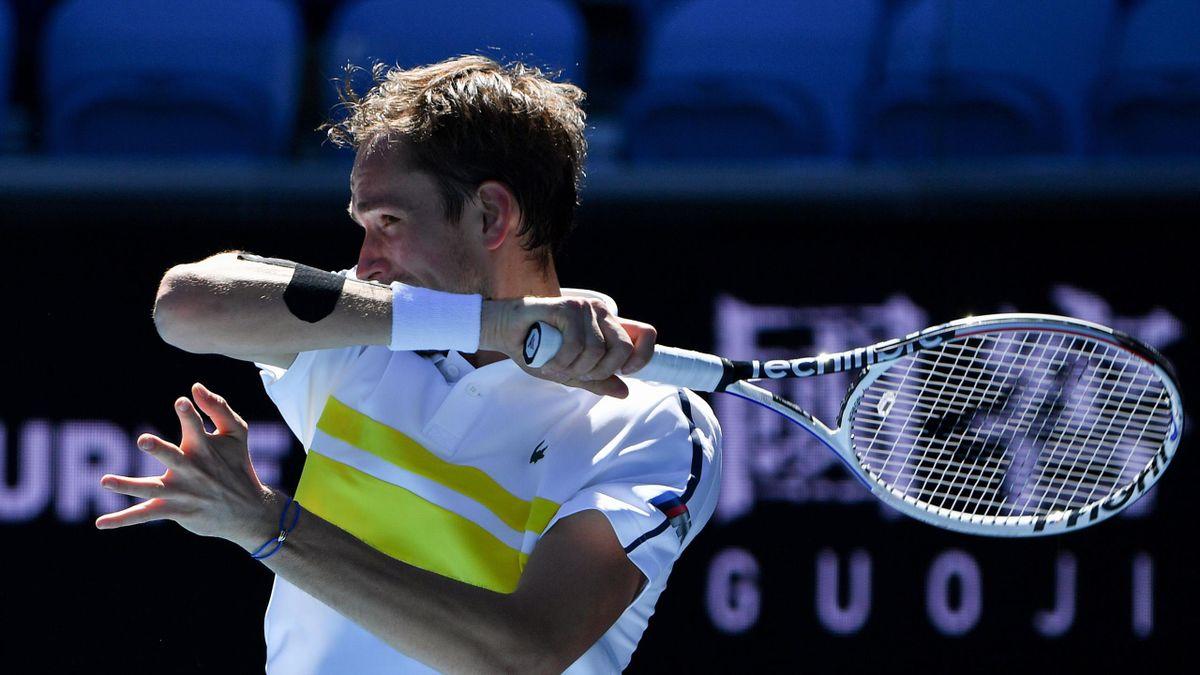Daniil Medvedev bei den Australian Open 2021
