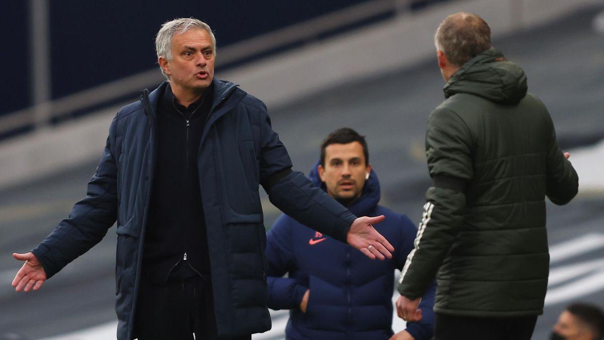 José Mourinho fa polemica con Solskjaer in Tottenham-Manchester United